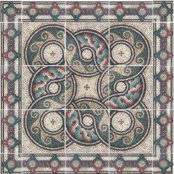 Rosetón Cerámico  Pompeya
