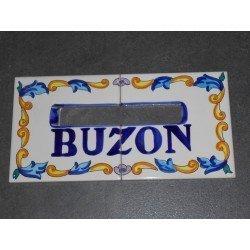BUZON CERAMICO ARTESANAL 15X30
