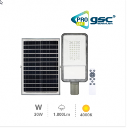 FAROLA SOLAR 30W 4000K IP65...