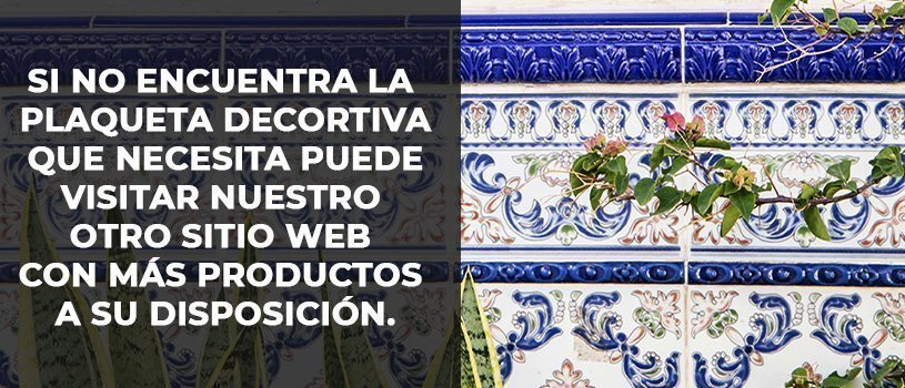Azulejos Gres Porcelánico de Banner sobre Plaqueta decorativa